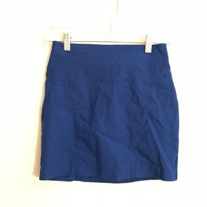 Forever 21 Mini Blue Skirt